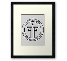 Fringe Division - Department of Defence Framed Print