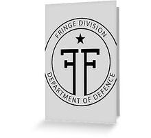 Fringe Division - Department of Defence Greeting Card