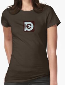 [FWD:009] ECHO PUSHER Womens Fitted T-Shirt