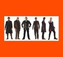 Doctor Who Lineup Kids Tee
