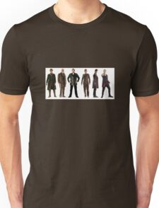 Doctor Who Lineup Unisex T-Shirt