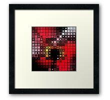 Red Alert Framed Print