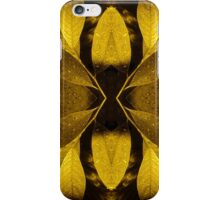 Yellow leaves iPhone Case/Skin