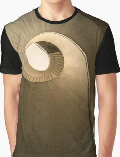 Concrete spiral stairs Graphic T-Shirt