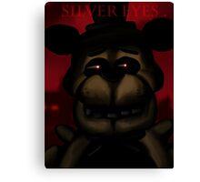 Silver Eyes (FNAF Novel ) Canvas Print