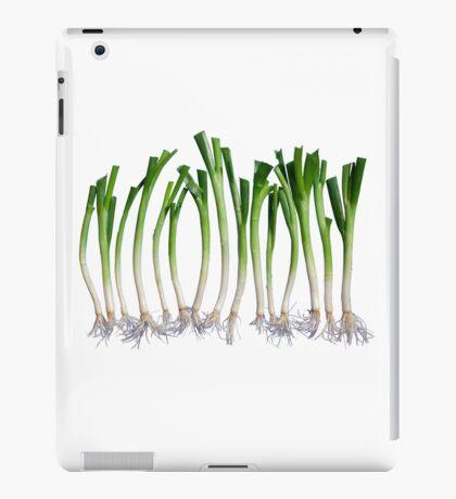 Go Veggie #1 : Green Onion iPad Case/Skin