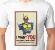 Kamen Riders want YOU Unisex T-Shirt