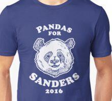 Pandas for Sanders Unisex T-Shirt