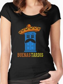 Buenas Tardis Hawai Women's Fitted Scoop T-Shirt