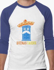 Buenas Tardis Hawai Men's Baseball ¾ T-Shirt