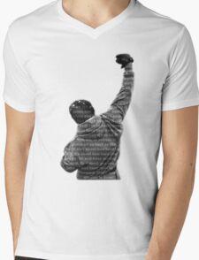 How Hard You Get Hit - Rocky Balboa Mens V-Neck T-Shirt