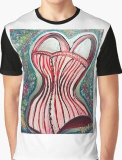 Corset Top Graphic T-Shirt