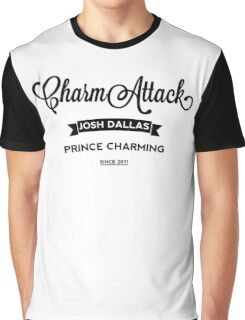 Josh Dallas - Charm Attack - Light Graphic T-Shirt