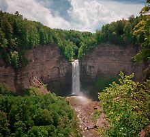 Taughannock Falls Big View by David Lamb