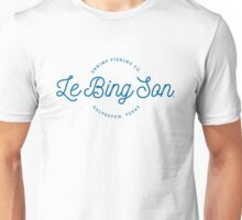 Le Bing Son shrimp fishing co. - Inspired by Springsteen's 'Galveston Bay' Unisex T-Shirt