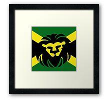 Jamaican Lion Framed Print
