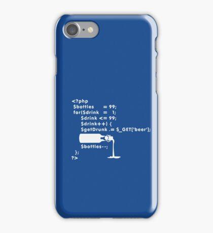 PHP: 99 bottles o' beer VRS2 iPhone Case/Skin