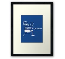 PHP: 99 bottles o' beer VRS2 Framed Print