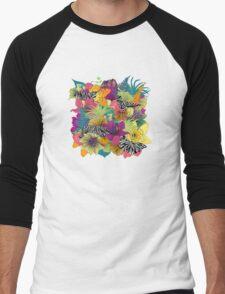 wondergarden Men's Baseball ¾ T-Shirt