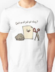 Can't We All Just Get Along Unisex T-Shirt