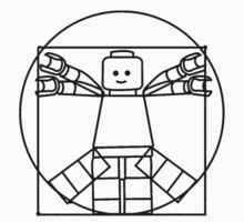 Lego Vitruvian Man One Piece - Long Sleeve