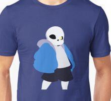 Undertale Minimalist Sans Blue Unisex T-Shirt