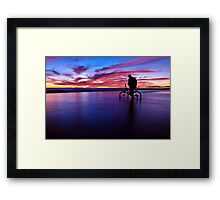 The Radical of the Seas Framed Print