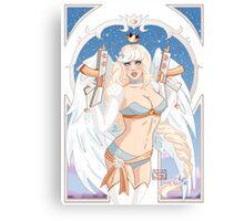 Gunner Angel Canvas Print