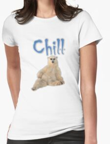 Chill Bear Womens Fitted T-Shirt
