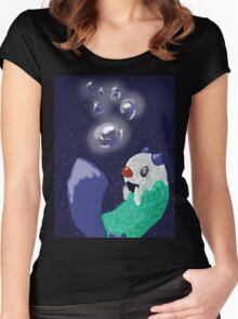 Oshawott in the water Women's Fitted Scoop T-Shirt
