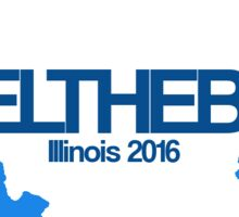 #feelthebern - Illinois Sticker