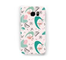 Atomic 50s Flamingo Samsung Galaxy Case/Skin