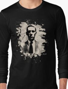H. P. Lovecraft Tribute Long Sleeve T-Shirt