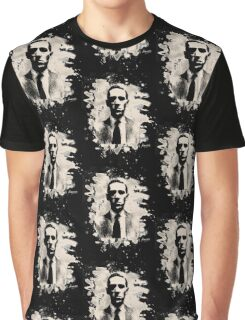H. P. Lovecraft Tribute Graphic T-Shirt