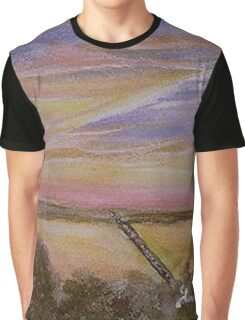 Sunset over Lake Ray Hubbard Graphic T-Shirt