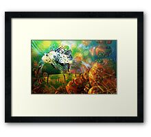 Alien World 444 views  Framed Print