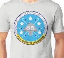USS Dwight D. Eisenhower (CVN-69) Navy Patch Unisex T-Shirt