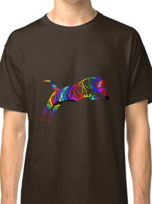 colored tiger Classic T-Shirt