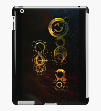 The Doctor in space iPad Case/Skin