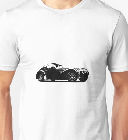 Z-Type (Bugatti Type 57SC Atlantic) Unisex T-Shirt