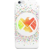 Rainbow Watercolor SHIELD Logo iPhone Case/Skin
