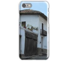 Old Adobe House With Balcony iPhone Case/Skin