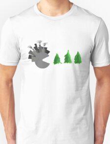 Pac Man Trees T-Shirt