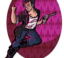 Wolf Among Us- Bloody Mary by ink-pocket