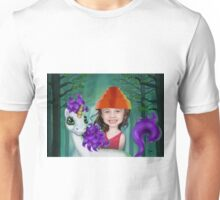 Camille and her Unicorn Unisex T-Shirt