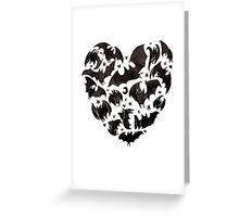 Bat Heart Greeting Card