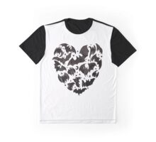 Bat Heart Graphic T-Shirt