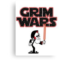 Grim Wars Canvas Print