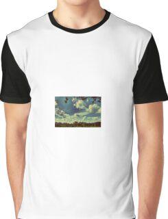Crisp Blue Sky Graphic T-Shirt