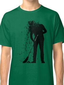 broom man Classic T-Shirt